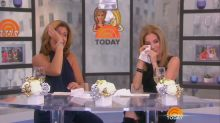 Watch the emotional moment Kathie Lee Gifford announces she's leaving 'Today' after 11 years