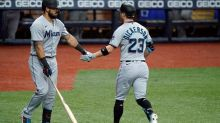 Fleming wins 3rd straight starts, Rays beat Marlins 5-4