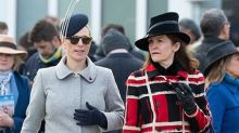Zara Tindall just wore knee-high boots to Cheltenham Races and wow, just wow