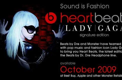 Headphone shocker! Lady Gaga, Beats by Dr. Dre and Monster Cable join forces
