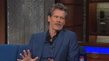 Kevin Bacon told to tone down the PDA by wife Kyra Sedgwick while working together