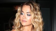 Rita Ora Gets Daring in a See-Through Gucci Dress, Trendy Blazer & Chunky Combat Boots