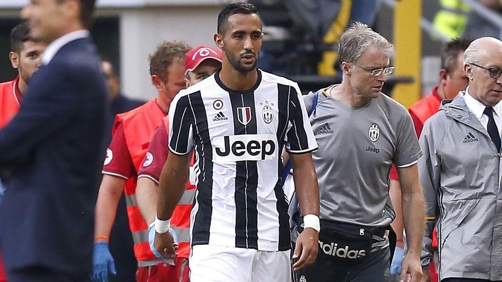 Trauma distrattivo alla coscia per Benatia: salta Sampdoria-Juventus