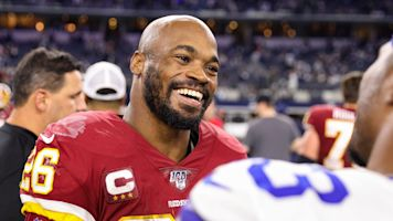 Peterson returning to Redskins for 2020 season