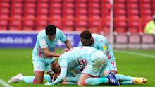 Connor Roberts rises high to power Swansea to victory at Nottingham Forest