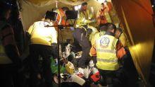 Fallece una mujer atropellada por un taxi que colisionó contra terraza