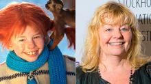 Inger Nilsson, actriz de Pippi Calzaslargas, mucha fama pero poco dinero