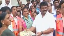 A 'saree' state of affairs in Telangana: Women burn Bathukamma gifts to protest poor quality of fabric