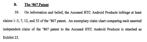 Apple specifically going after Android in HTC lawsuit