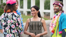 Meghan Markle adds 2 dreamy new dresses to her maternity wardrobe