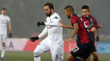 10-man AC Milan draws 0-0 at relegation-threatened Bologna