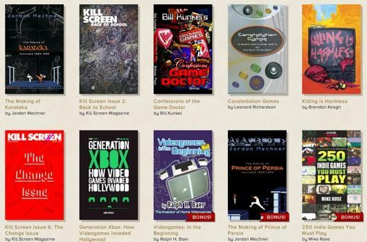 Pay what you want for a virtual pile of video game ebooks