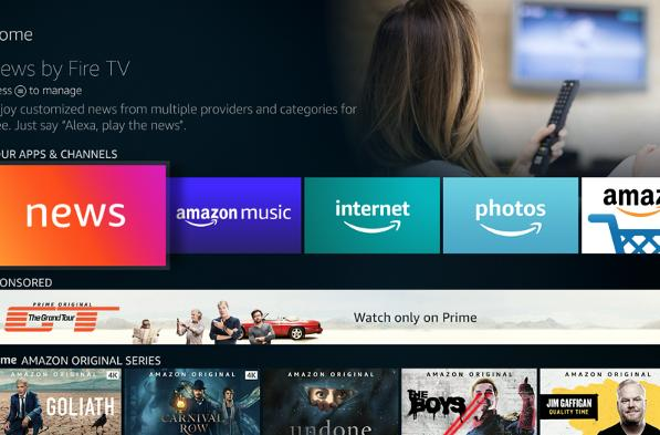 Amazon Fire TV's free news app now boasts stations in 88 cities