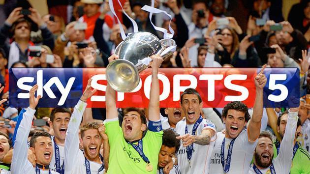 Sky Sports 5 launches as a dedicated channel for European football