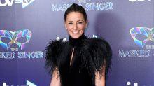 Davina McCall's fans go wild over her swishy halterneck minidress for The Masked Singer