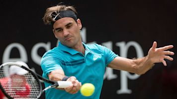 Federer to face Coric in Halle final