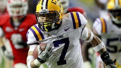LSU's Mathieu kicked off team