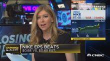 Nike beats earnings estimates for third-quarter