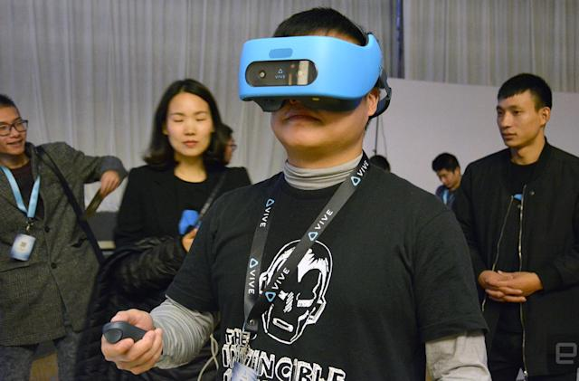 HTC Vive Focus hands-on: a promising start for next-gen mobile VR