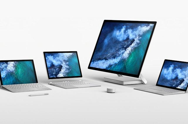 Microsoft's Surface Laptop and Pro are now available worldwide