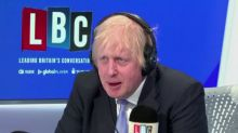 """""""Let's not blow it now, folks"""" says PM Johnson"""