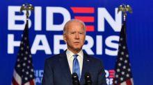 """Election américaine : """"Il est temps de nous rassembler"""", lance Joe Biden alors qu'il creuse l'écart avec Donald Trump"""