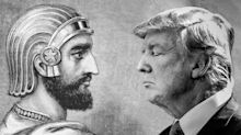 In Donald Trump, Israelis hear echoes of an ancient emperor