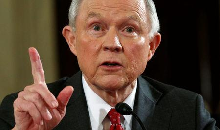 A bitterly divided Senate confirmed Republican Senator Jeff Sessions as the next attorney general of the United States. REUTERS/Kevin Lamarque