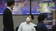 Asian shares slide on fears virus will stunt global economy