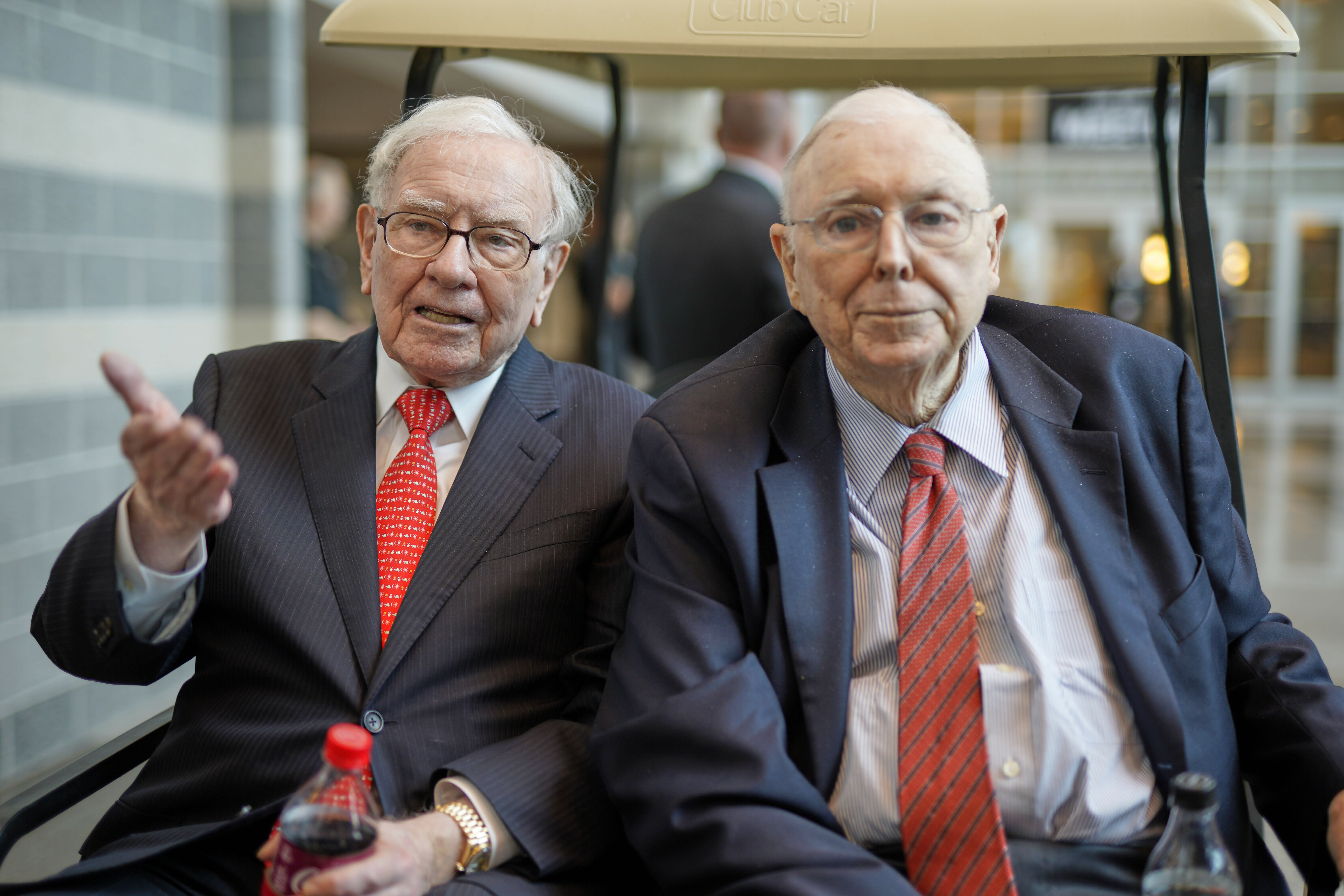 Warren Buffett says Berkshire is '100% prepared' for his death, details what will happen to his stock