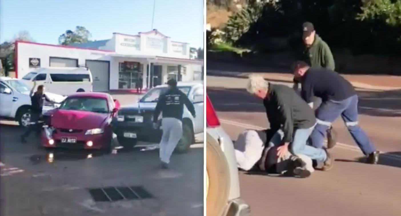 WA car jacking turns into dramatic citizen's arrest