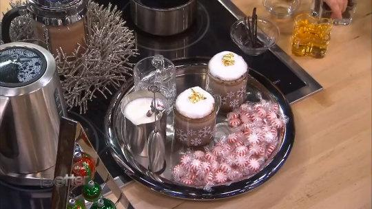 Reed Alexander Makes Holiday Peppermint Hot Cocoa