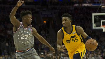 Donovan Mitchell's 35-shot, 0-assist night was historic in the worst of ways