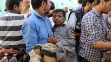 Saudi-led airstrikes kill dozens in Saada province, Yemen