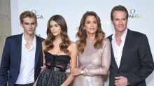 Cindy Crawford's Family Is Picture-Perfect at Omega Paris Fashion Week Event