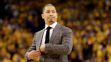 The Cavs reportedly have a 'secret' defense for the playoffs that's part of a game plan Tyronn Lue was working on until 6 am