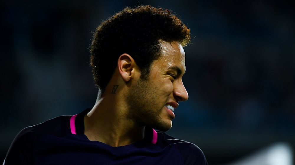 Neymar set to miss Real Madrid match over red card reaction