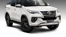 New Toyota Fortuner TRD Limited Edition Variant Launched in India at Rs 34.98 Lakh