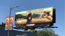 'Once Upon a Time in Hollywood' Billboard Vandalized to Blast 'Pedowood'