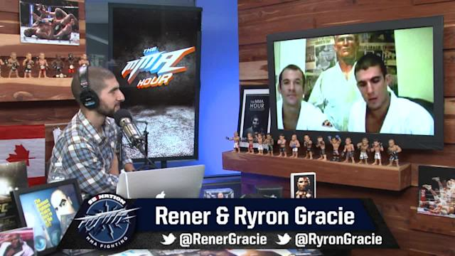 The MMA Hour - Episode 202 - Rener and Ryron Gracie