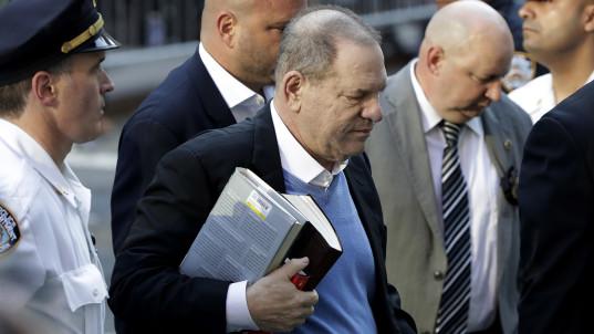 Harvey Weinstein surrenders to NYC police
