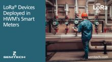 Semtech's LoRa Devices Successfully Deployed in HWM's Water Meter Solutions