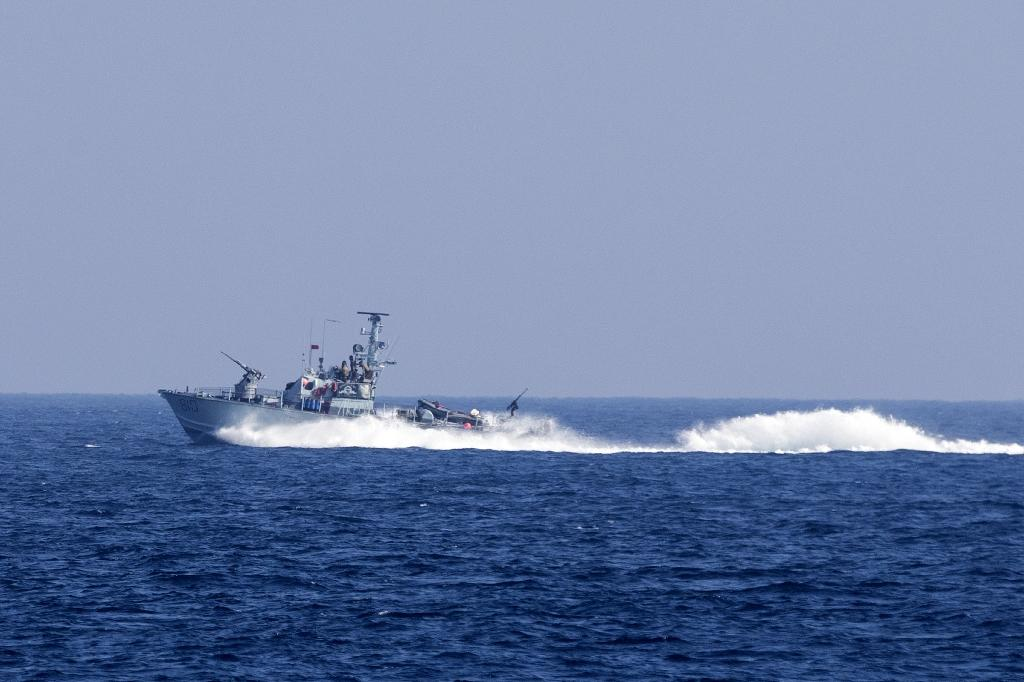 af8556c2 Israel navy intercepts activist boat trying to break Gaza blockade