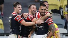 Roosters blow away NQ, winger bags five
