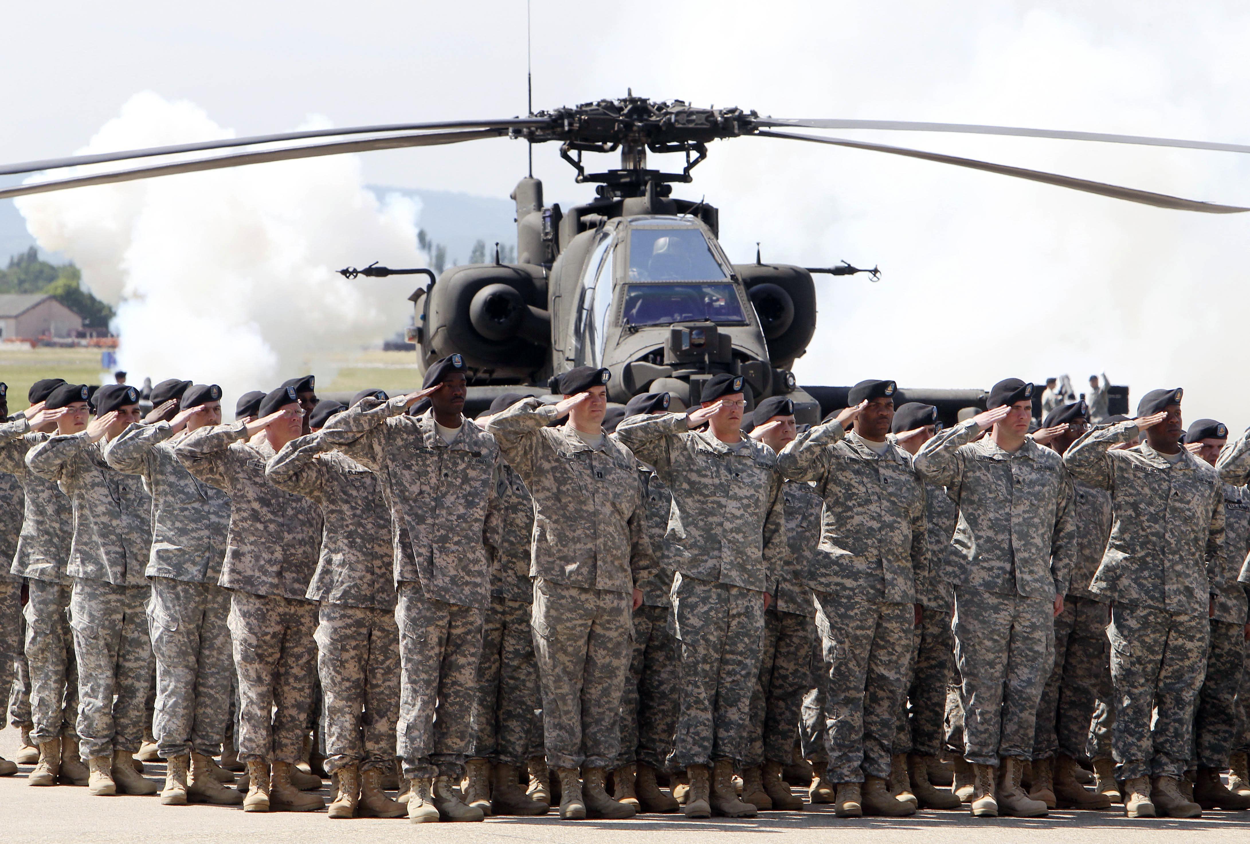 German governors urge Congress to stop troop withdrawal plan