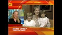 Meryl Streep Giggles Watching 1990 GMA Appearance With Daughters