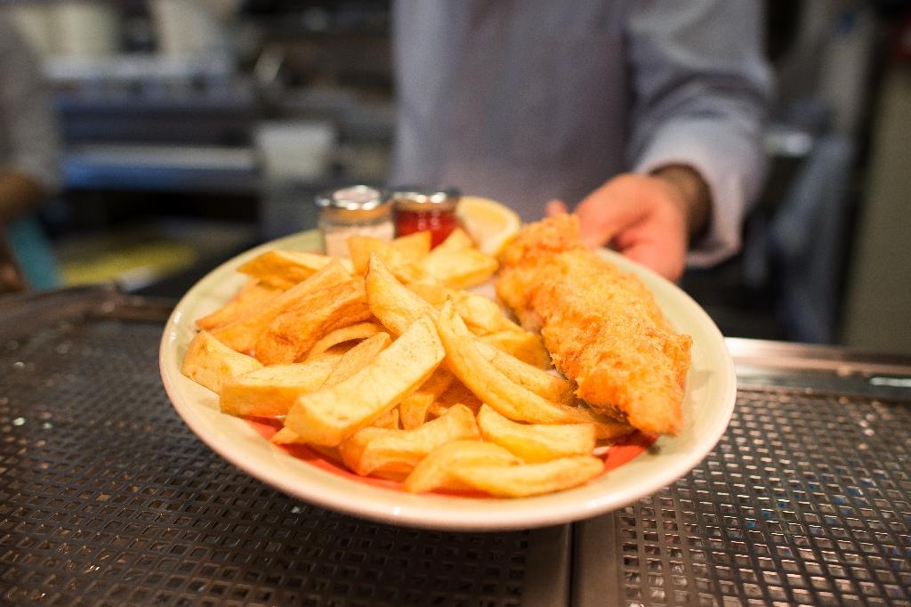 Warming seas may spell the end to traditional British food favourites such as haddock and chips