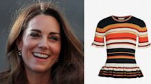 The Duchess of Cambridge's sailing-ready striped top is on sale for £81