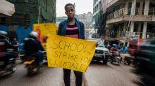 """Leah, a """"Greta"""" ugandesa em missão para salvar o planeta"""
