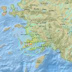 6.7-magnitude earthquake strikes near Turkey, Greek islands